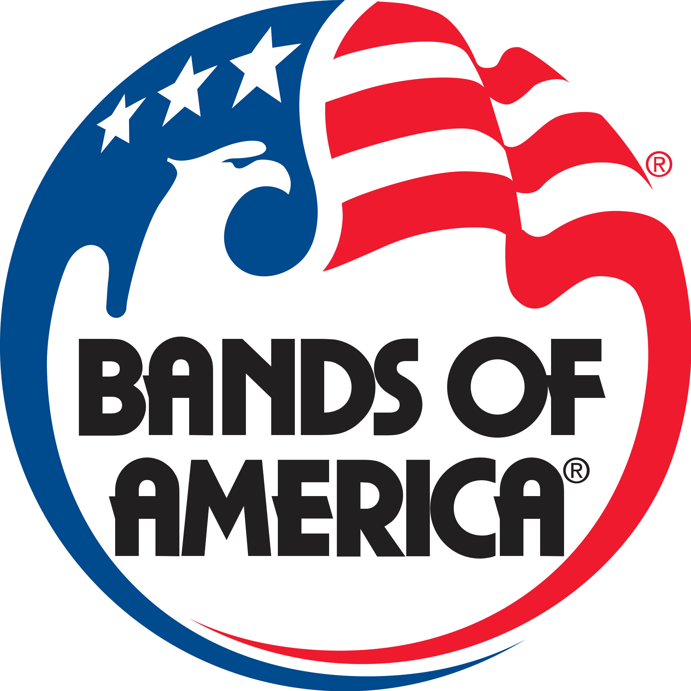 clip black and white stock Vector bands transparent. Of america logo png