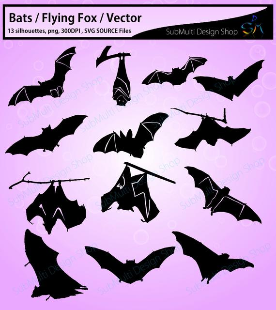 graphic library download bat silhouettes svg
