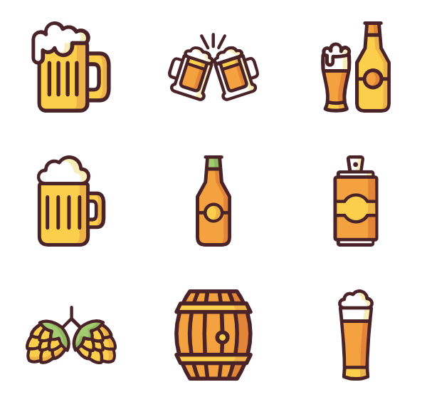 transparent download Pint of icons free. Vector beer