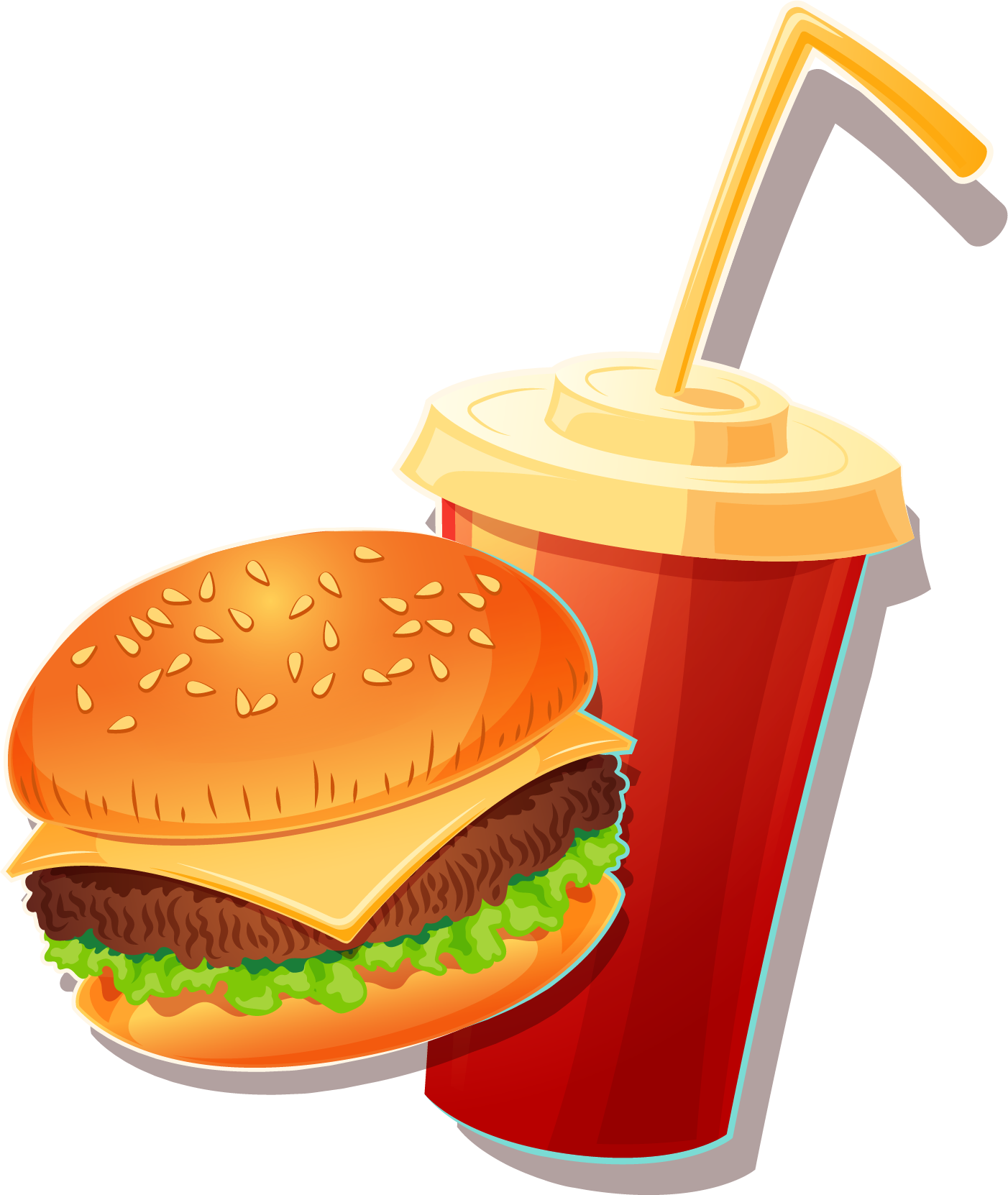 jpg royalty free library Hamburger Cheeseburger Fast food Veggie burger Junk food