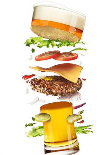 svg library download And png transparent images. Vector burger beer