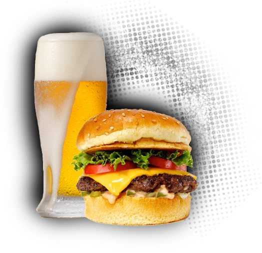 vector free library And png transparent images. Vector burger beer