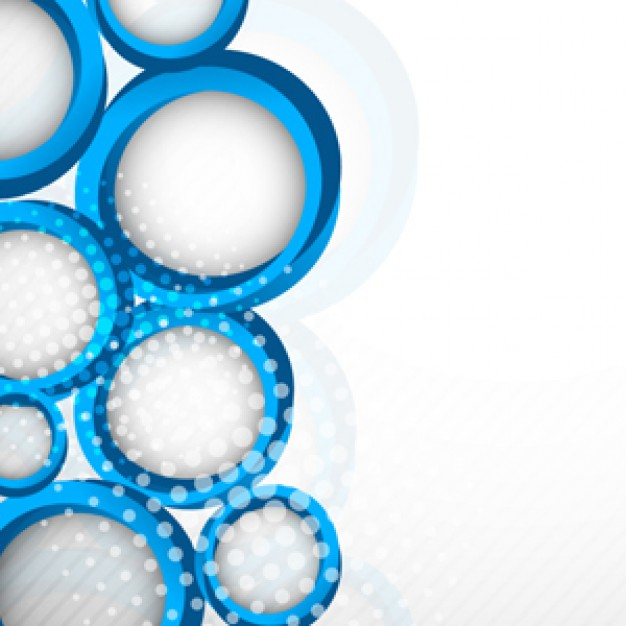 svg freeuse Circle background abstract . Vector blue and white