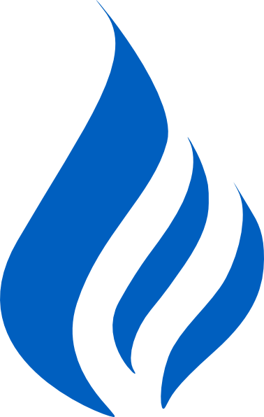 clip art transparent library Vector blue bluish. Flame logo clip art