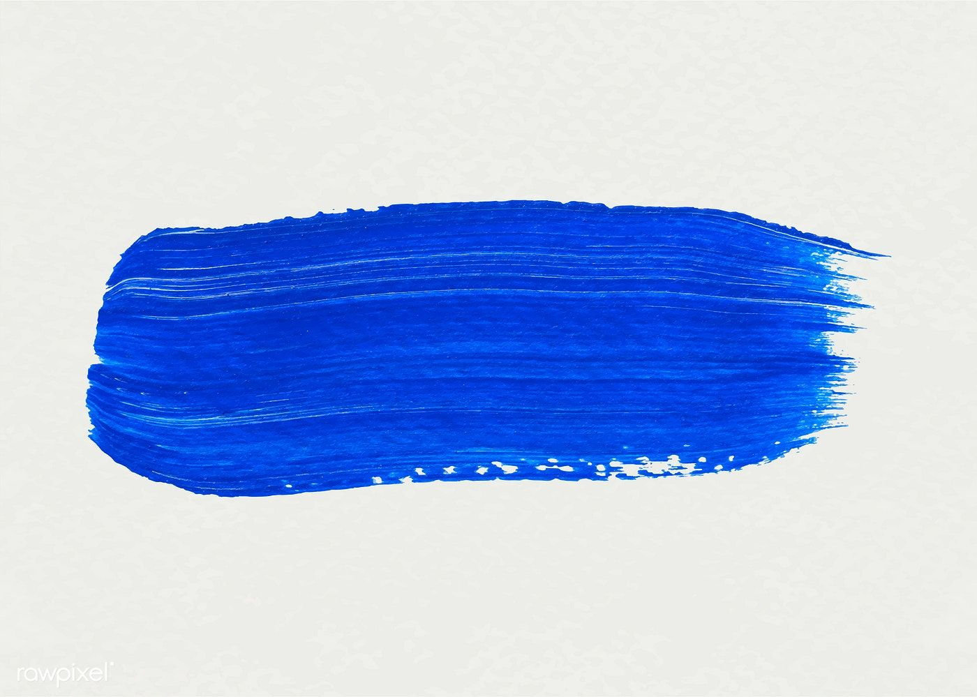 free library Vector blue brush stroke. Acrylic free image by