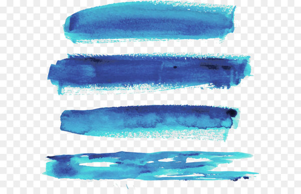 clipart freeuse Watercolor strokes png images. Vector blue brush stroke