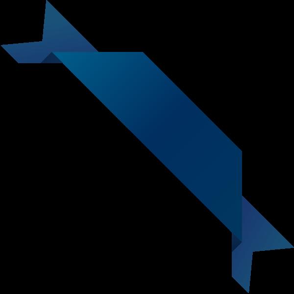 clip art library Vector blue dark. Corner ribbon navy data