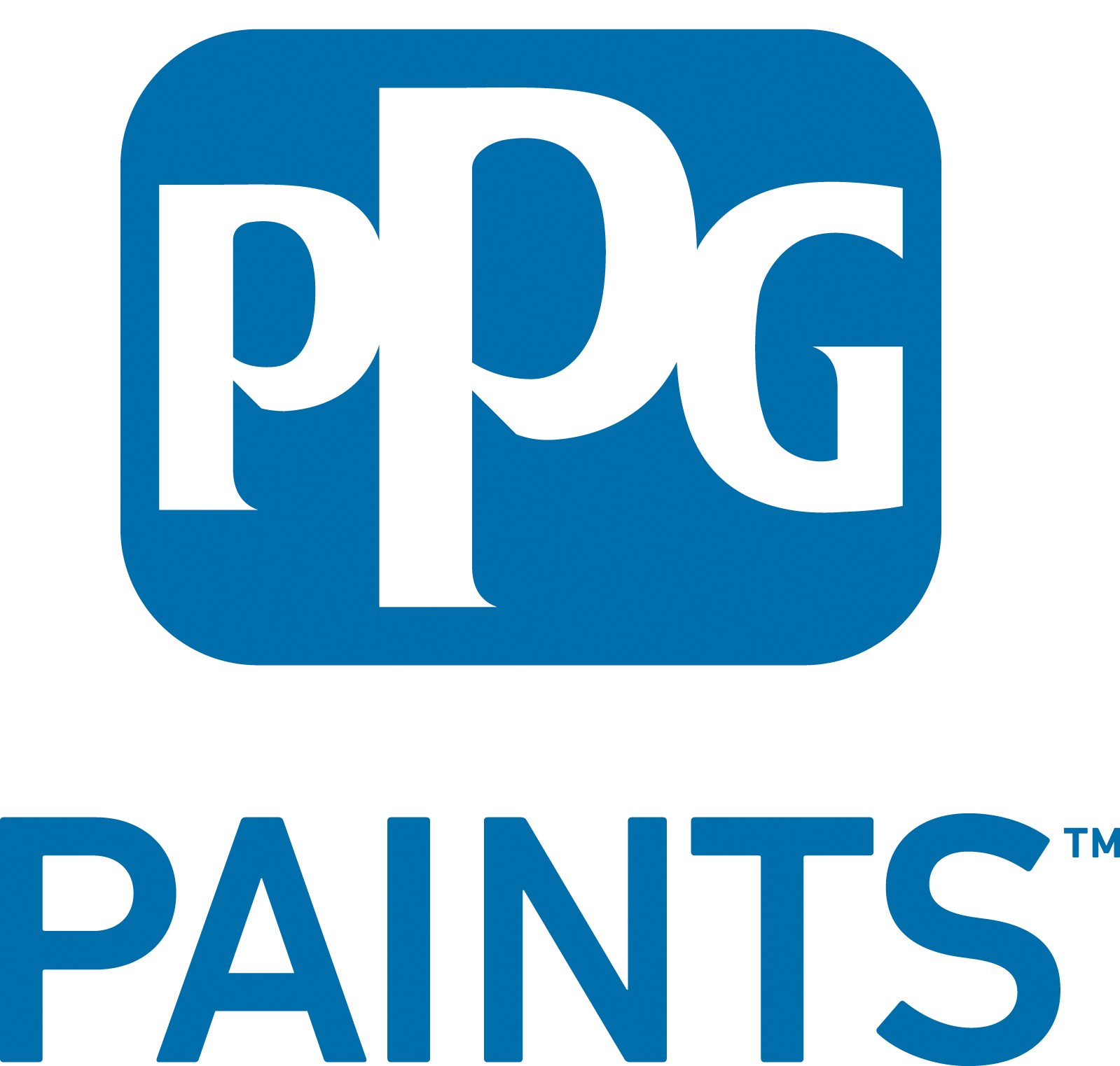 graphic transparent library Ppg paints marketing planner. Vector blue high resolution