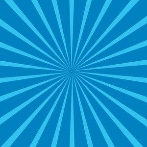library Sun rays background publicdomain. Vector blue illustrator
