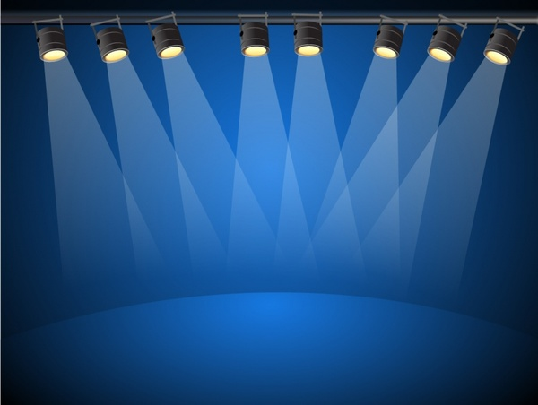 image transparent library Vector blue light. Lights free in adobe