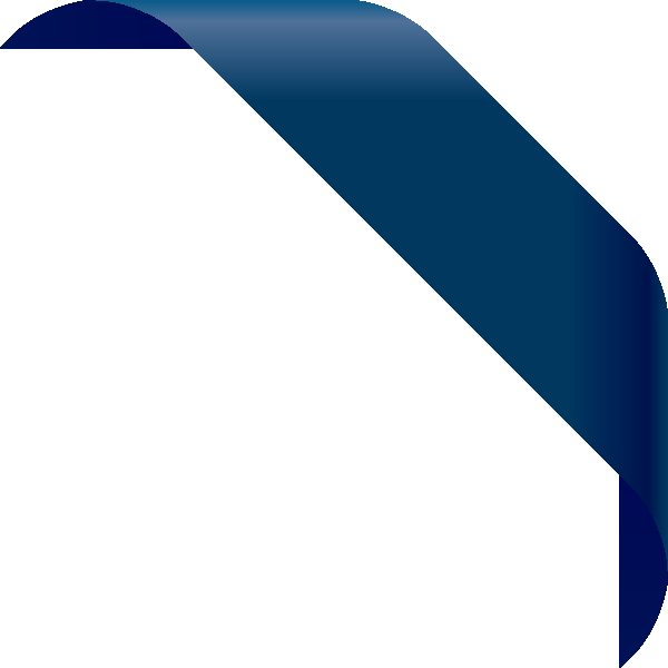 png free stock Corner ribbon data svg. Vector blue navy