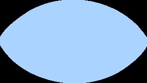clip royalty free library Football clip art at. Vector blue shape