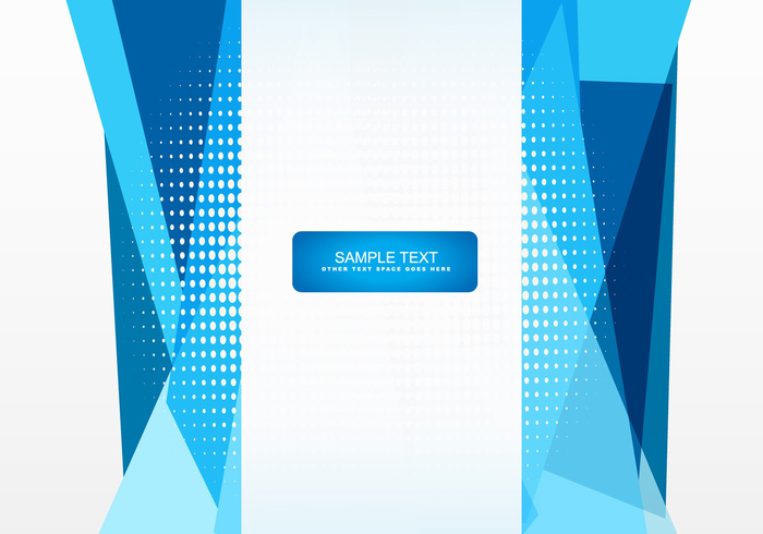 graphic black and white Vector blue shape. Abstract design welovesolo