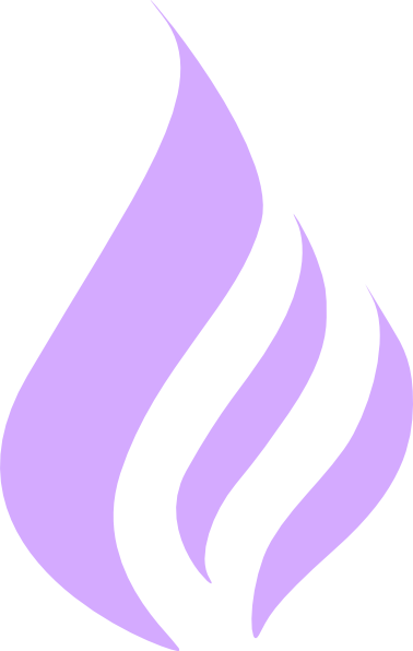 black and white Flame purple clip art. Vector blue simple