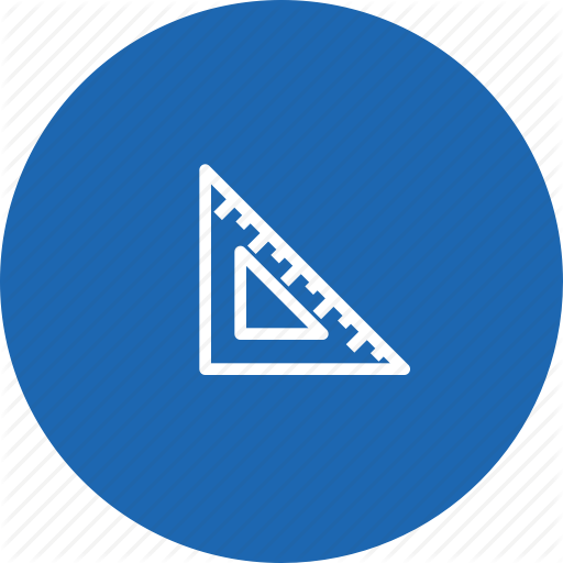 clip royalty free library Vector blue triangular. School and education vol
