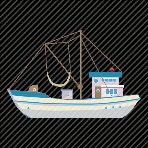 svg stock Vector boat abstract. Transportation cartoon by ivan