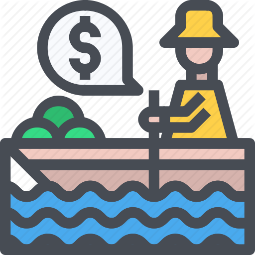 banner Thailand by just icon. Vector boat element