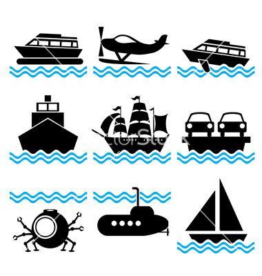 graphic transparent download Vector boat illustrator. Icons complex ct illustration
