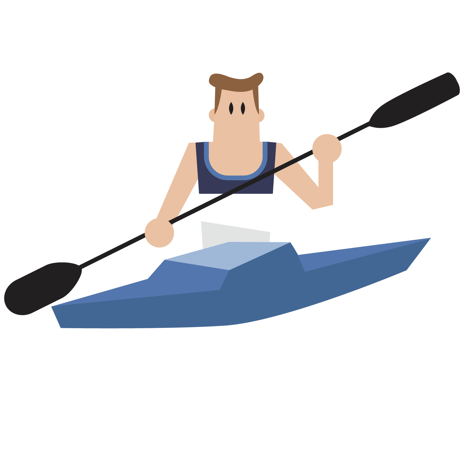 banner freeuse library Clip art boating the. Vector boat rowing