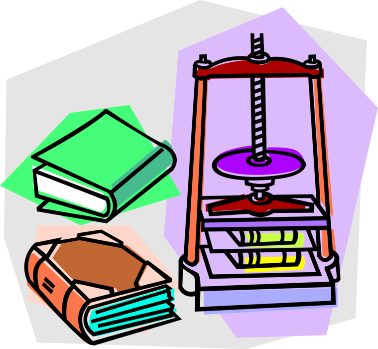 clip freeuse library Book image illustration of. Vector books binding