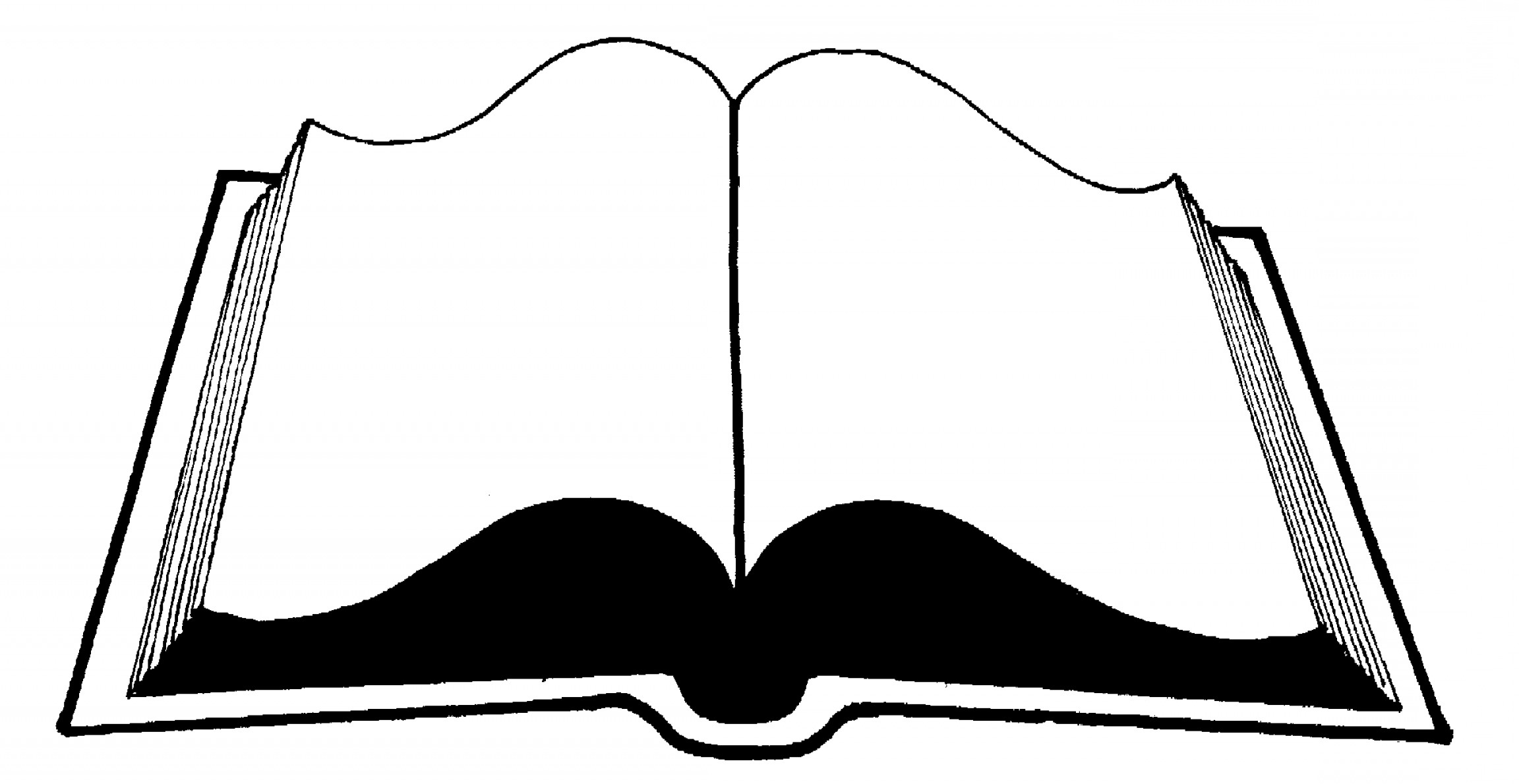 graphic library Png open book and. Vector books black