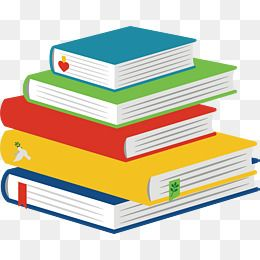image transparent  book png and. Vector books cartoon