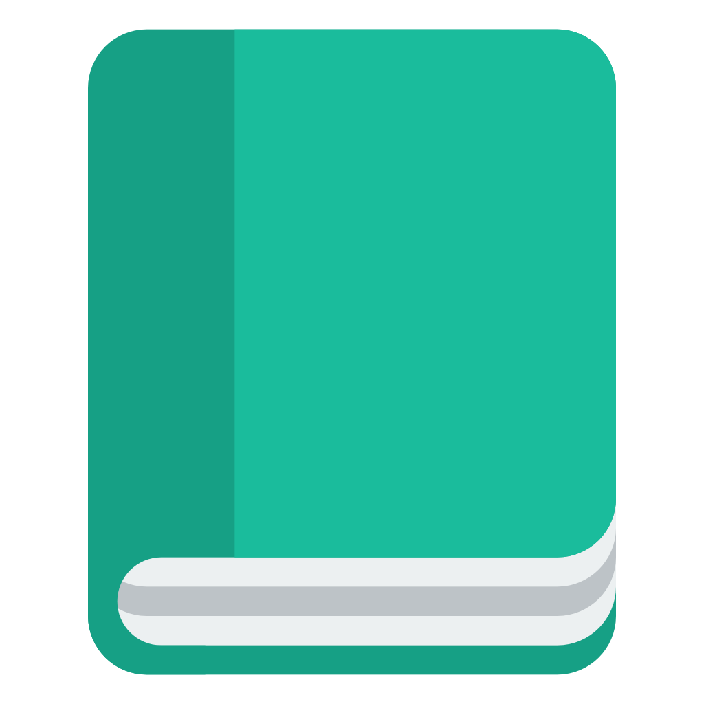 vector transparent Book icon small iconset. Vector books flat