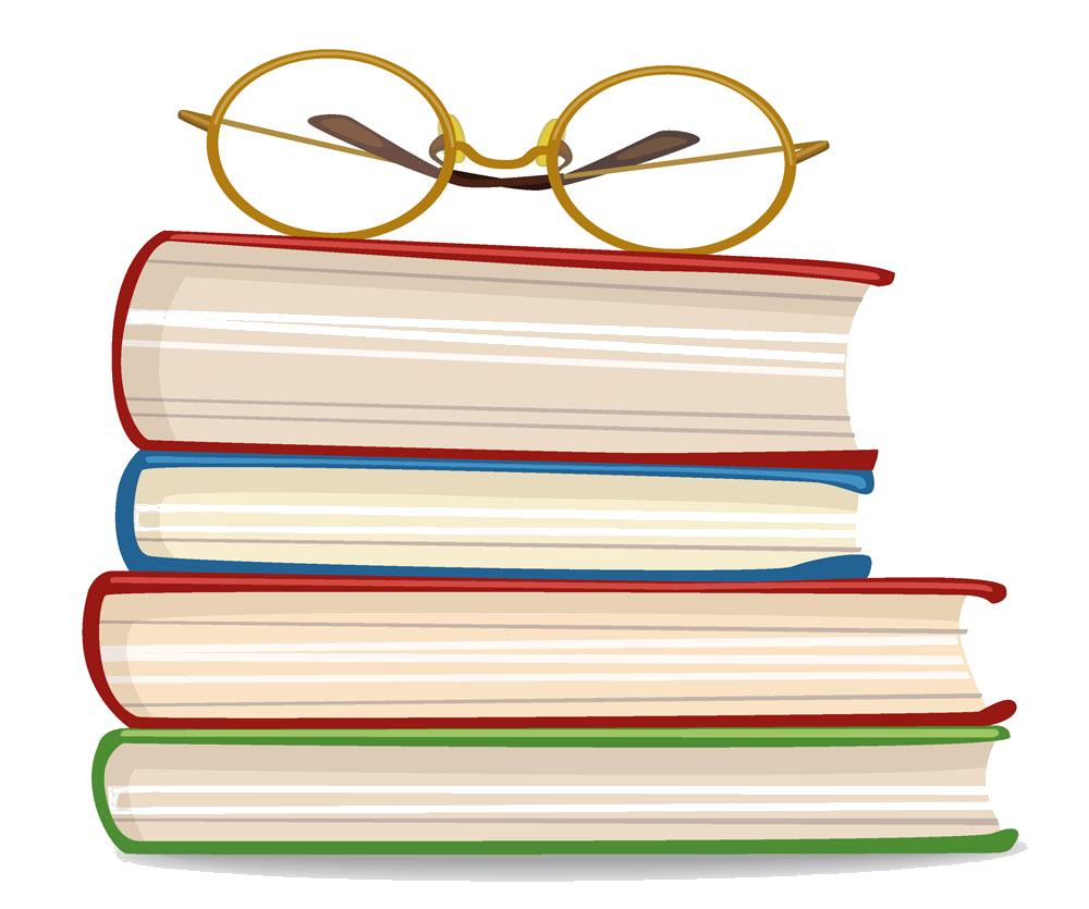 clip library stock Vector books illustrator. Book euclidean adobe glasses