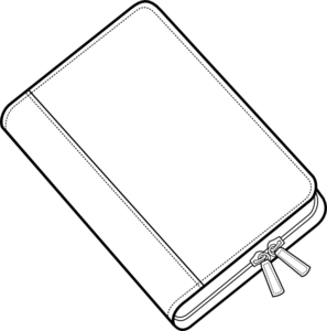 svg transparent library Closed book clip at. Vector books line art