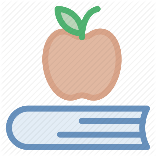 banner royalty free stock Education by stall apple. Vector books school