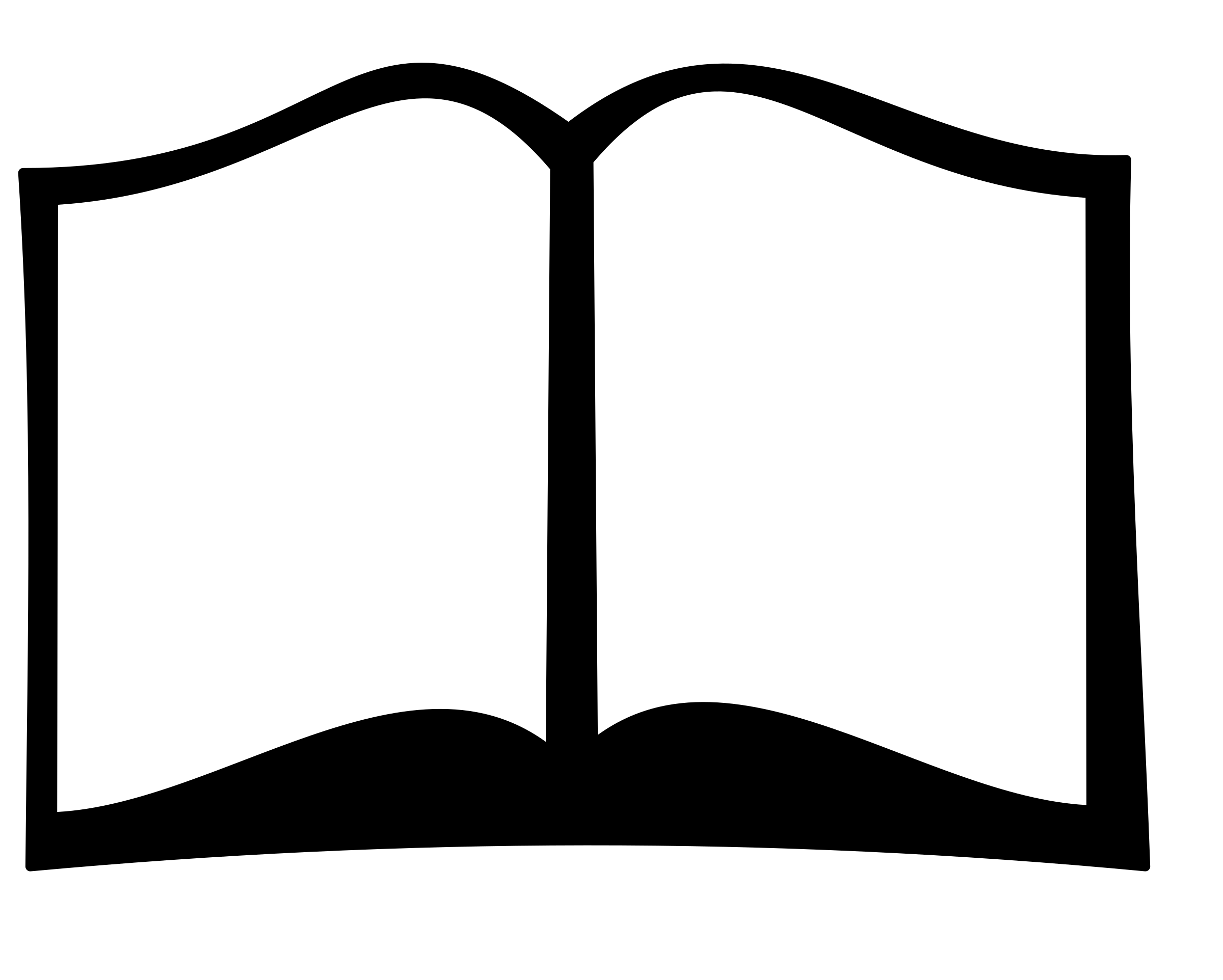 freeuse Book icons png free. Vector books silhouette