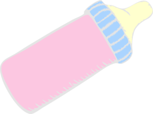 clip art freeuse library Vector bottle baby. Pink clip art at