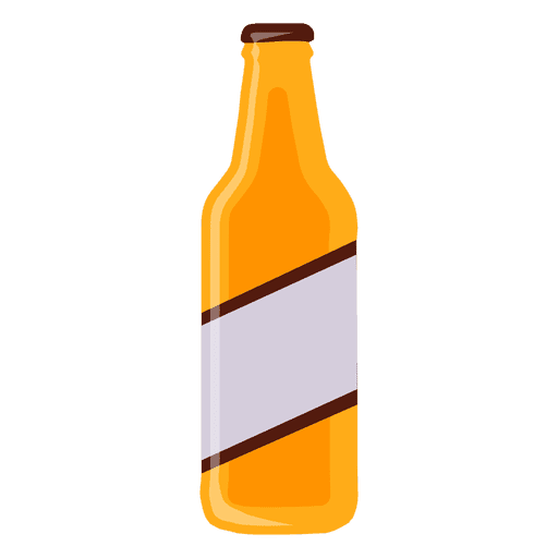 vector black and white library Transparent png svg. Vector bottle beer