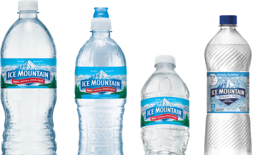 svg freeuse library Vector bottle bottled water. Where to buy ice