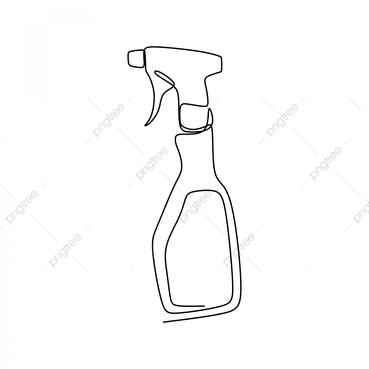 image free stock Vector bottle line drawing. Perfume and clothing fragrance