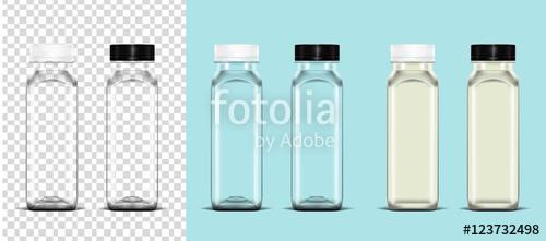 clip art black and white Vector bottle transparent. Empty plastic stock image