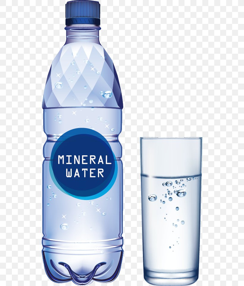 picture black and white stock Bottled mineral png x. Vector bottle water