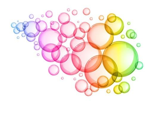 clipart library download Abstract colorful bubbles background. Vector color bubble