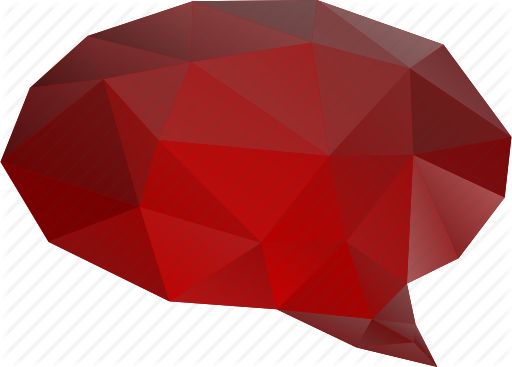 image transparent Vector bubble abstract. Polygonal by vectorgraphit chat