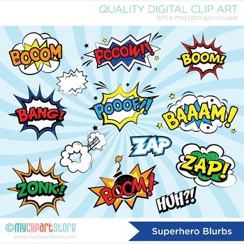 picture black and white Vector bubble blurb. Frames superhero comic book