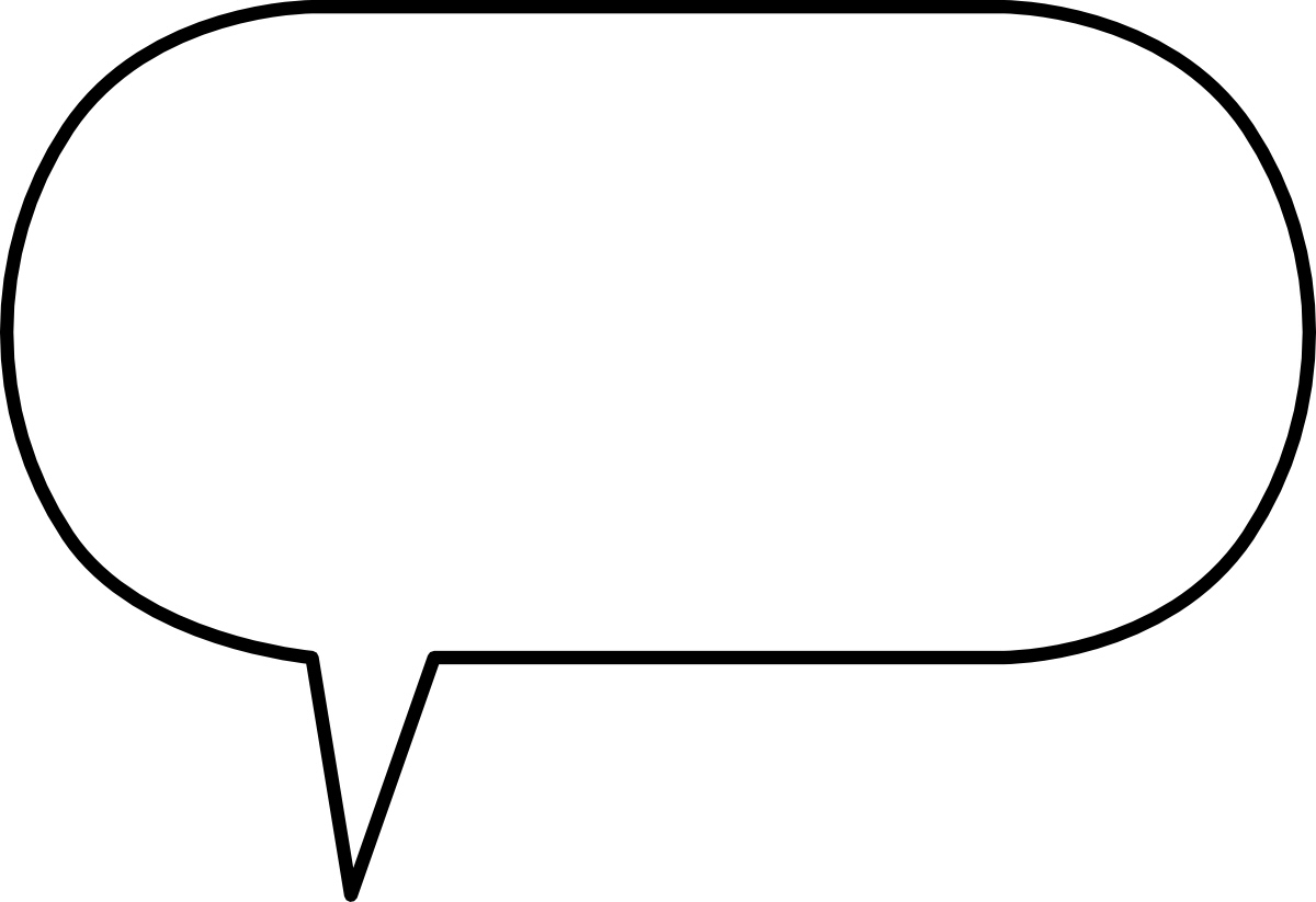 png free Speech ai and eps. Vector bubble border