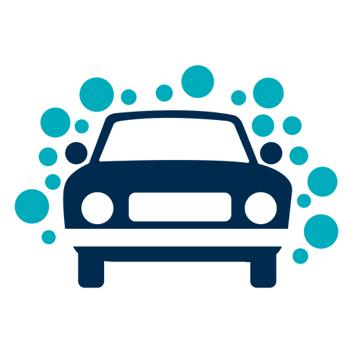 jpg royalty free stock Vector bubble car wash. With bubbles icon transparent