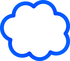 clipart free download Blue clip art at. Vector bubble cloud