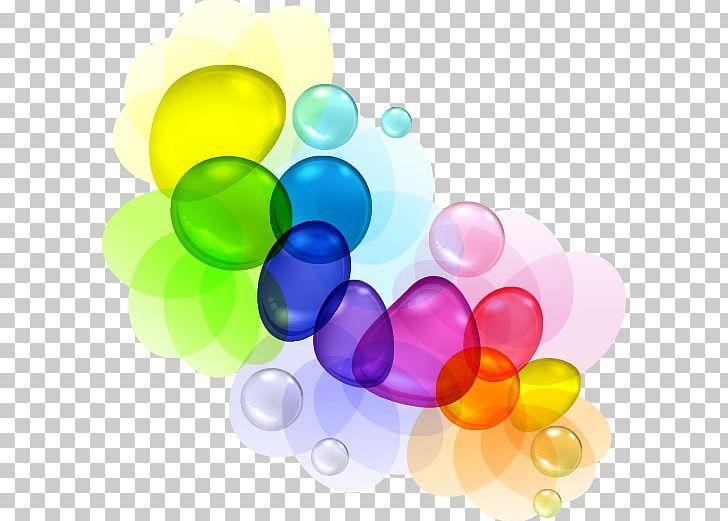 clip freeuse library Vector color bubble. Drop png clipart balloon