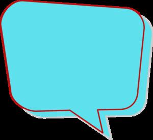 png transparent stock Aqua speech clip art. Vector bubble colorful