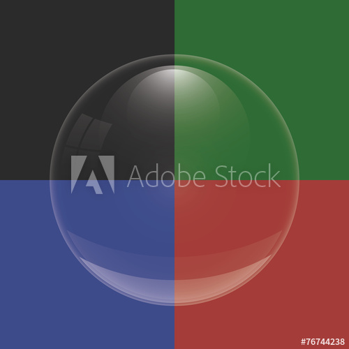 freeuse Vector bubble glass. Buy this stock and