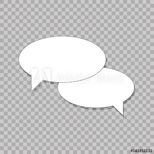 banner black and white Vector bubble simple. Isolated icon eps flat