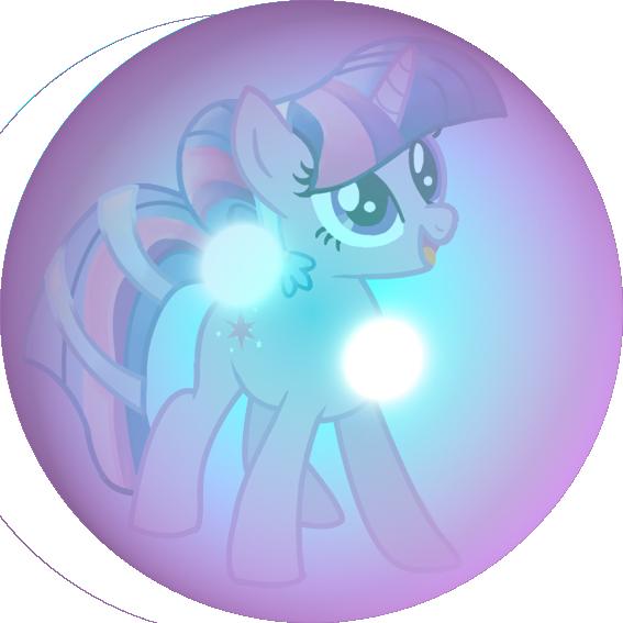 vector freeuse stock My little pony twilight. Vector bubble sparkle
