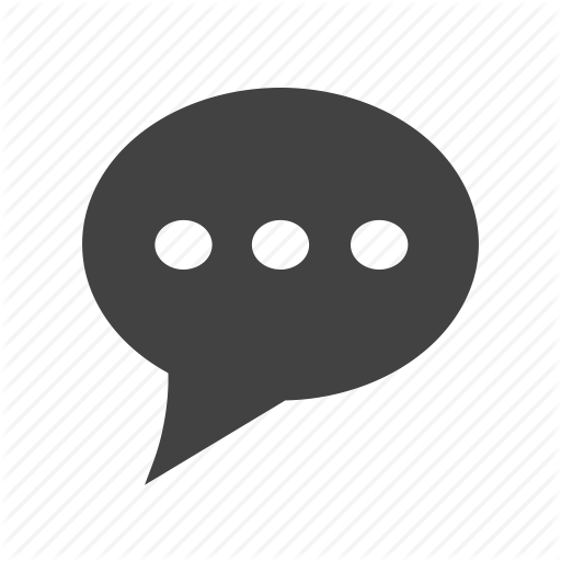 clip free download Vector bubble typing. Mobile apps glyph black
