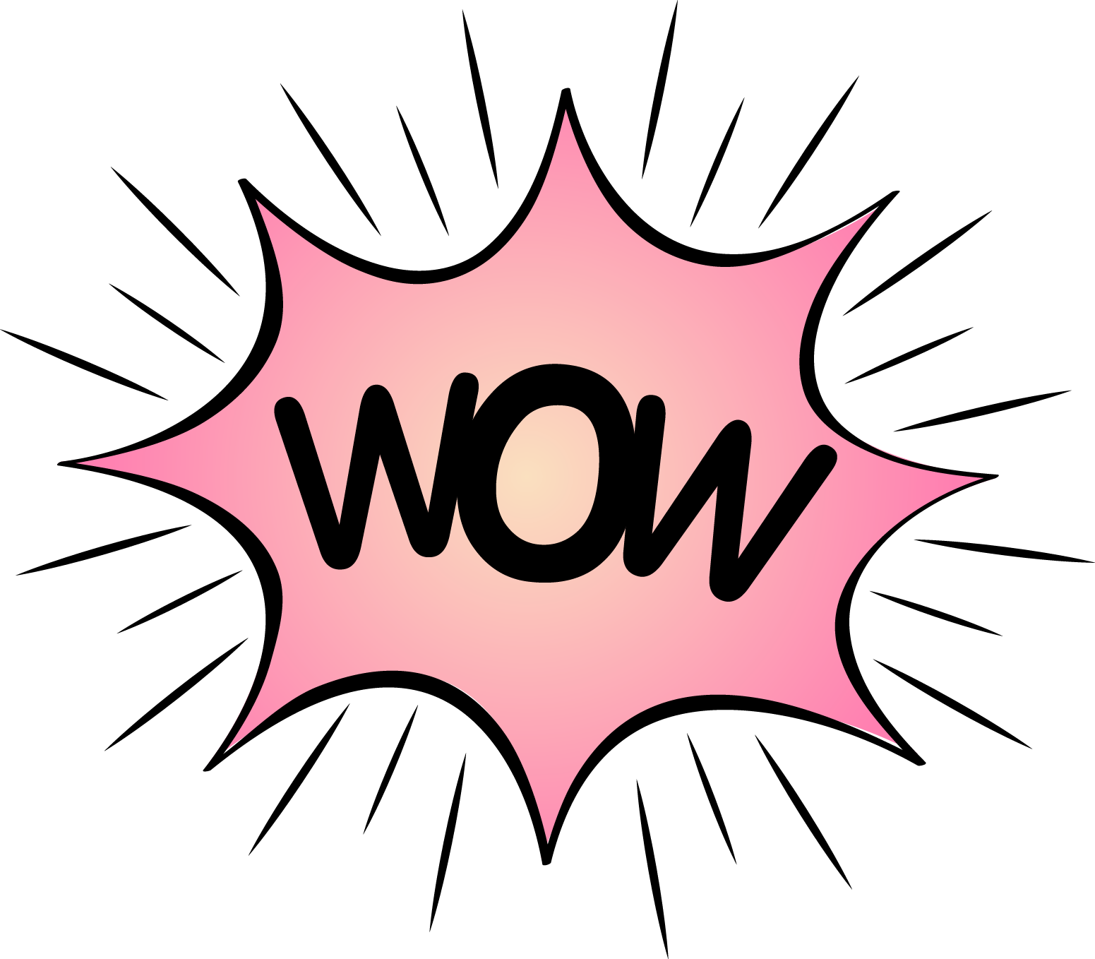clip free library Vector bubble wow.  speech png for
